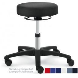 Hocker mit Ringauslösung, PU Sitz
