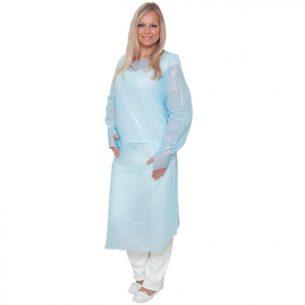 Cpe Gown Apron Disposable Garments Cleanroom