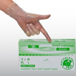 Vinyl Handschuhe professional food plus