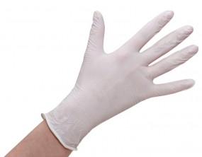 Nitril-Handschuhe, weiß