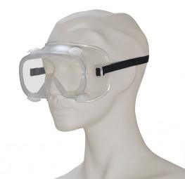 Schutzbrille mit Ventilen