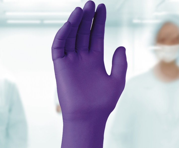 Kimtech Science Purple Nitrile Xtra Gloves Nitrile Glove